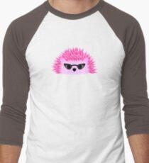 Hedgy Pricklypear Flair Men's Baseball ¾ T-Shirt