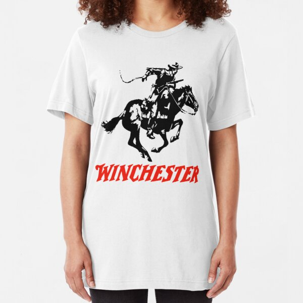 Winchester Logo Slim Fit T-Shirt