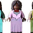 The Schuyler Sisters - Hamilton - Broadway Bricks by BroadwayBricks