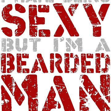 Sexy Bearded Man- RED by BaptismCo