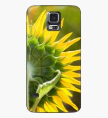 Close up of Sunflower Back - Nobby, Australia Case/Skin for Samsung Galaxy