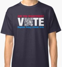 Vote QR Code Election Classic T-Shirt