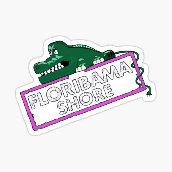 Floribama Shore Croc Phone Logo Sticker