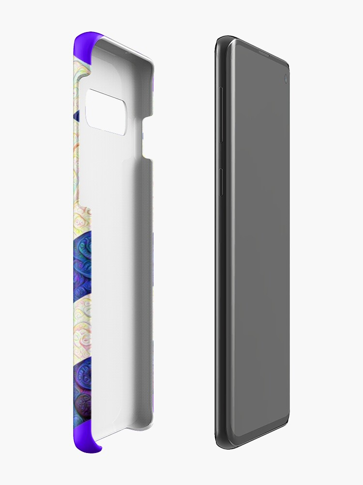 Alternate view of #DeepDream Color Squares Visual Areas 5x5K v1448964615 Case & Skin for Samsung Galaxy