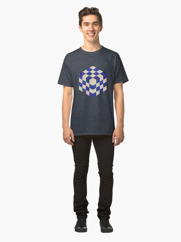 Alternate view of #DeepDream Color Squares Visual Areas 5x5K v1448964615 Classic T-Shirt