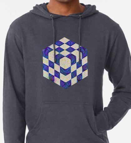 #DeepDream Color Squares Visual Areas 5x5K v1448964615 Lightweight Hoodie