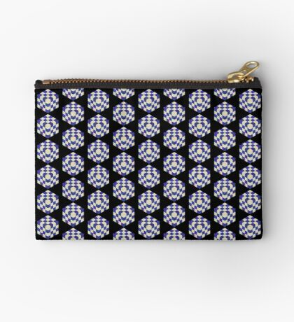 #DeepDream Color Squares Visual Areas 5x5K v1448964615 Zipper Pouch