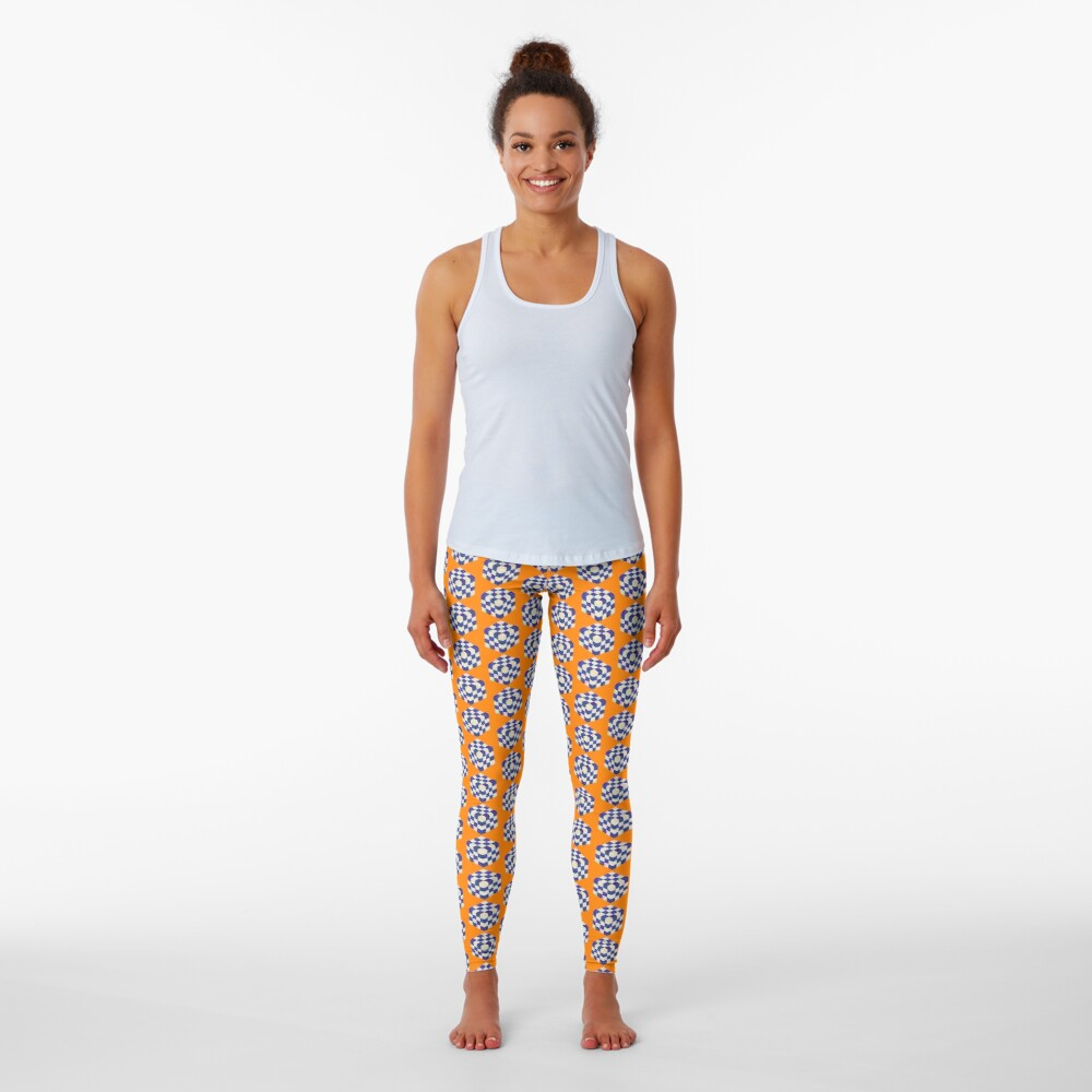 #DeepDream Color Squares Visual Areas 5x5K v1448964615 Leggings