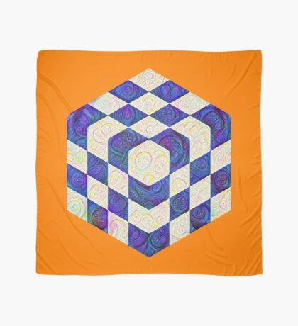 #DeepDream Color Squares Visual Areas 5x5K v1448964615 Scarf