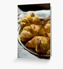 Croissants Greeting Card