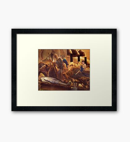 Mat Blackwell - Please, Just Ignore All the Dead Framed Print