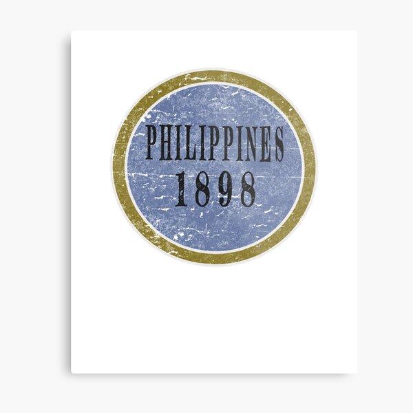 Vintage Philippines Independence day Metal Print