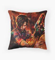 Leon Kennedy Throw Pillow
