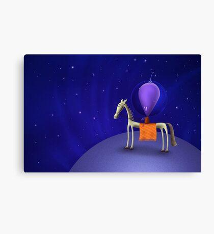 Horse Rider Canvas Print