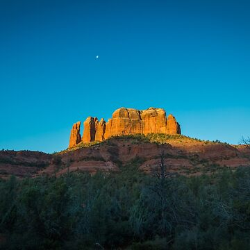 Cathedral Rock at Sunrise (Landscape) by eegibson