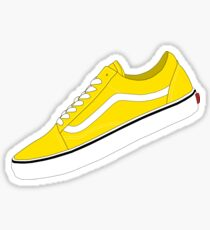 Ochre / Yellow / White - Skate Sneakers Sticker