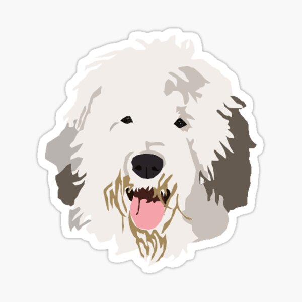 3 I love my Schapendoes dog bumper vinyl stickers decals 1 large 2 small