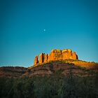 Cathedral Rock at Sunrise (Portrait)  by eegibson
