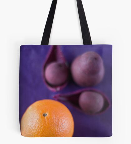 The orange Tote Bag