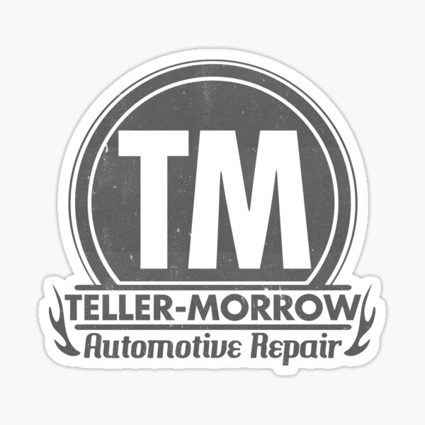 Teller Morrow Automotive Repair - TM Sticker