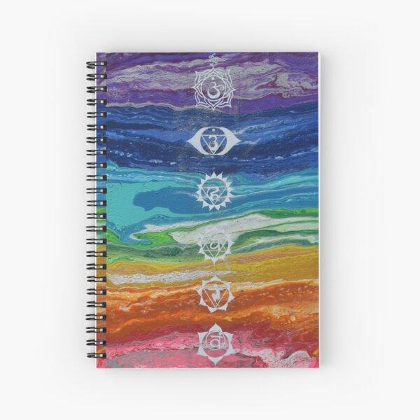 Chakras Spiral Notebook