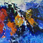 A BURST OF COLOUR by JOHN COCORIS