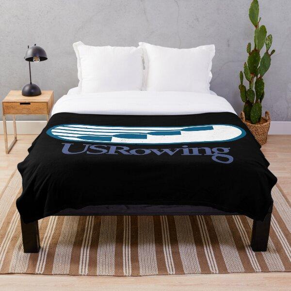 US Rowing Throw Blanket