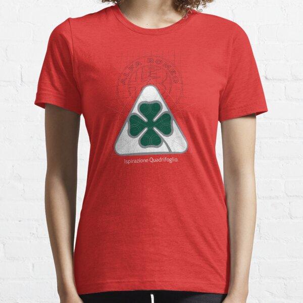 Alfa Romeo Quadrifoglio Ispirazione T-shirt essentiel