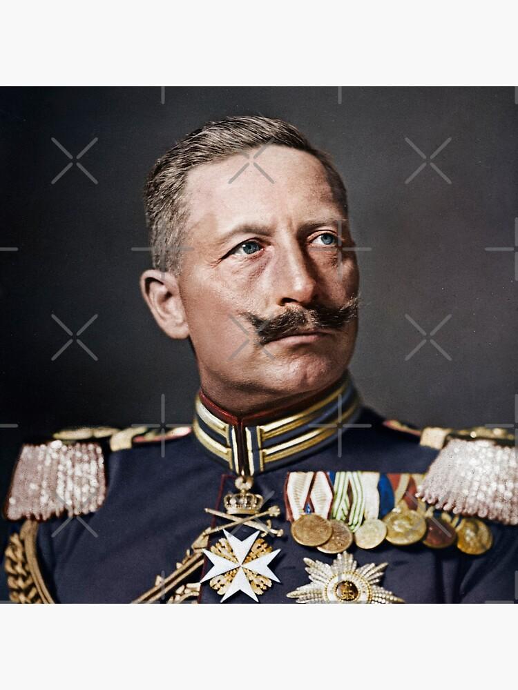 Kaiser Wilhelm II, 1908 colorized by KAI-Studio