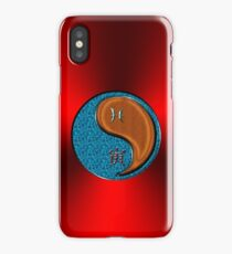 Pisces & Tiger Yang Wood iPhone Case/Skin