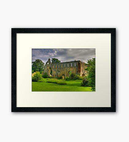 Jervaulx Abbey #1 Framed Print