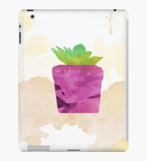 Living in a loney world (Background) iPad Case/Skin