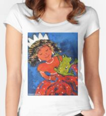 The princess and the frog Women's Fitted Scoop T-Shirt