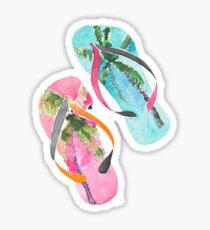 Flip-Flips Sticker