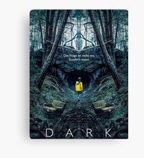 Dark Poster Canvas Print