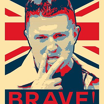 Free Tommy Robinson Brave by bigtimmystyle