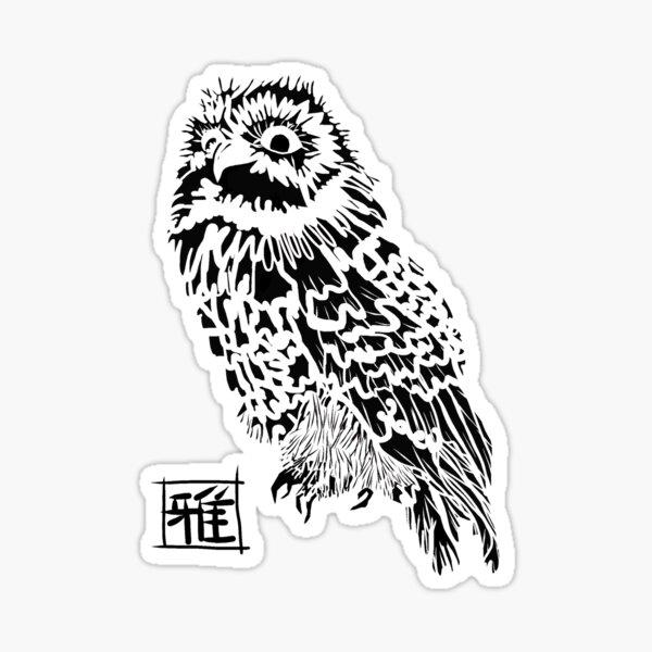Owl Jones Sticker