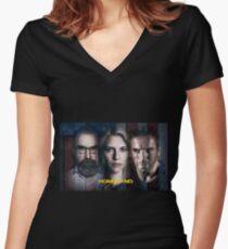 Homeland Women's Fitted V-Neck T-Shirt