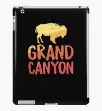 Grand Canyon TShirt - Bison Buffalo Retro Arizona Vacation iPad Case/Skin