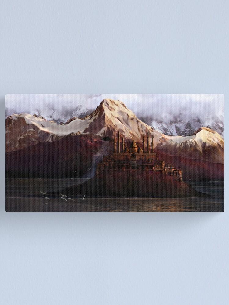 Alternate view of Midgard Canvas Print