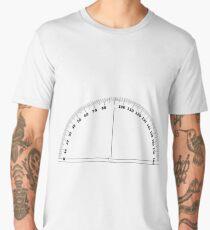 protractor art design Men's Premium T-Shirt