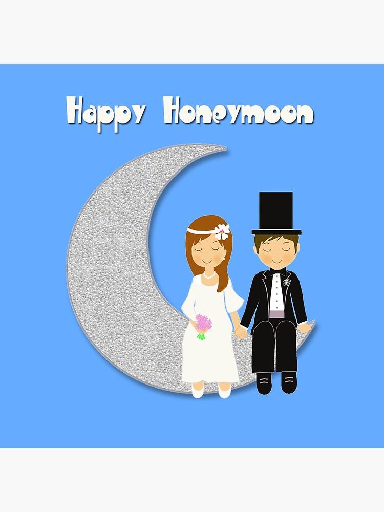 Happy Honeymoon by elmundodeanuk