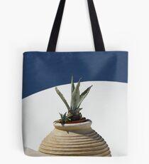 CACTUS, OIA, SANTORINI Tote Bag