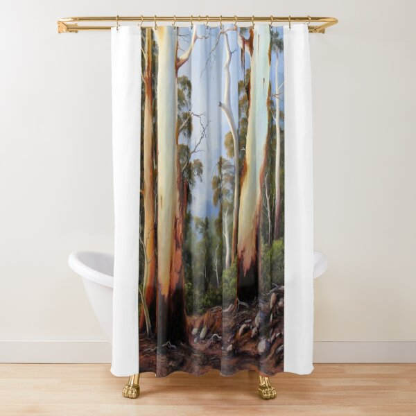 Gumtree Study Shower Curtain