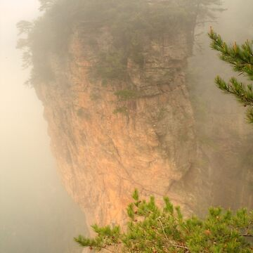 Heaven Pillar in the fog by Michaelm43