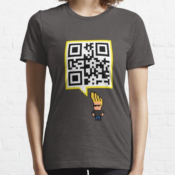 QR code - SEND NUDES , hidden message Essential T-Shirt