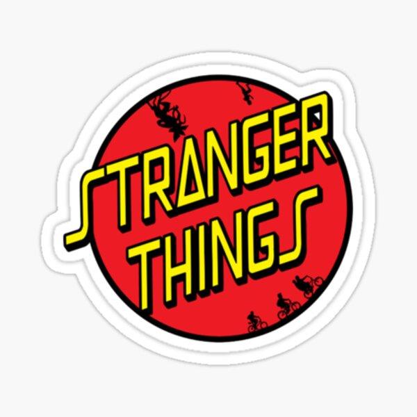 stranger things text Sticker