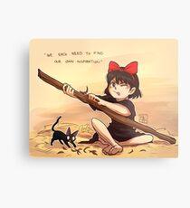Kiki's Delivery Service - Inspiration Metal Print