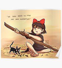 Kiki's Delivery Service - Inspiration Poster