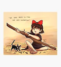 Kiki's Delivery Service - Inspiration Photographic Print